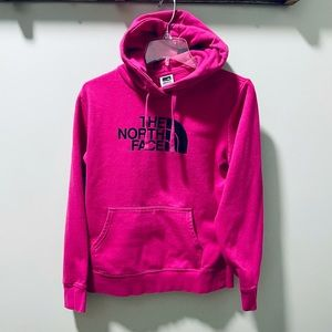 The North Face Pink Hoodie Pullover Sweatshirt